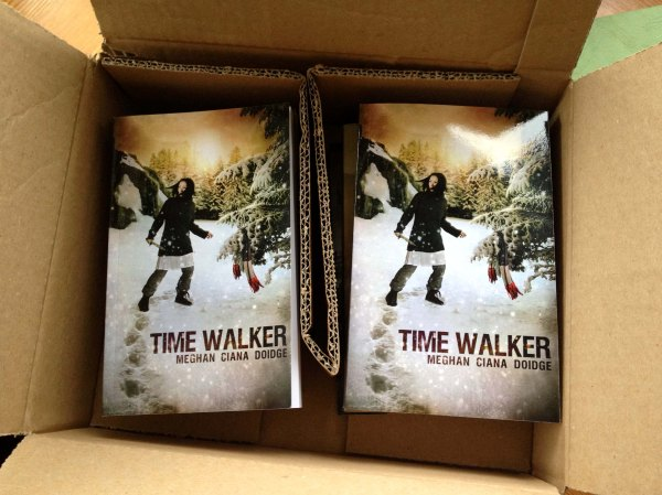 Time Walker paperbacks