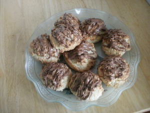 low-fat macaroons