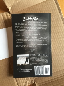 I See Me paperback PROOF back