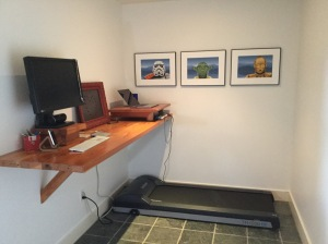 New paint, new treadmill, and new reconfiguration.