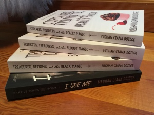 Four misprinted paperbacks