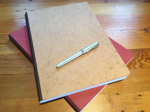 Mystery writing notebooks