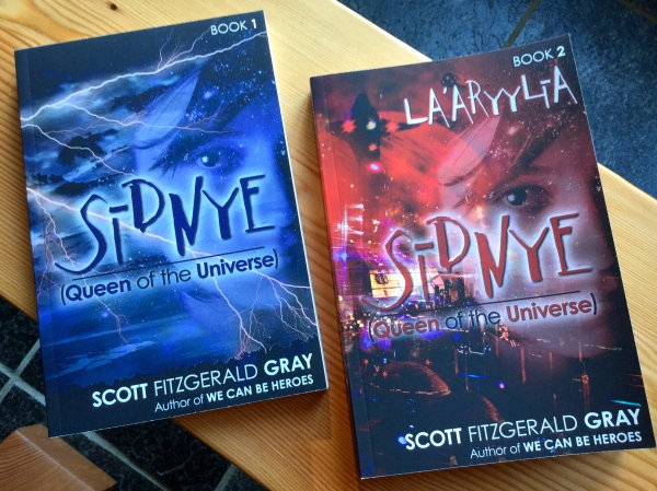 Autographed paperbacks generously offered for giveaway on MBM!